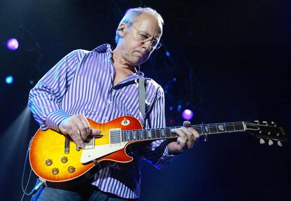 Mark Knopfler Performs In Perth