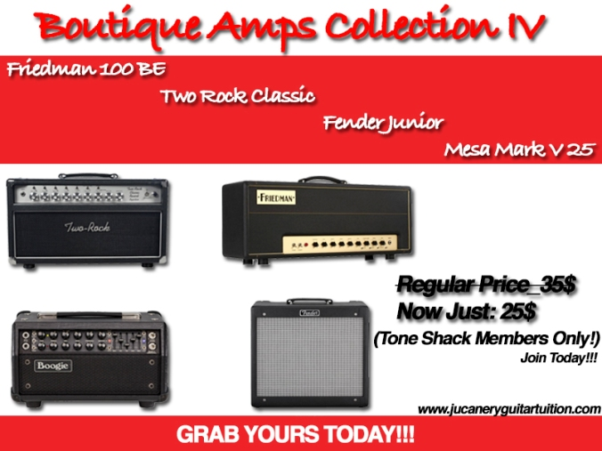 Boutique Amps Collection IV