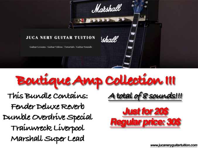 Boutique Amps III