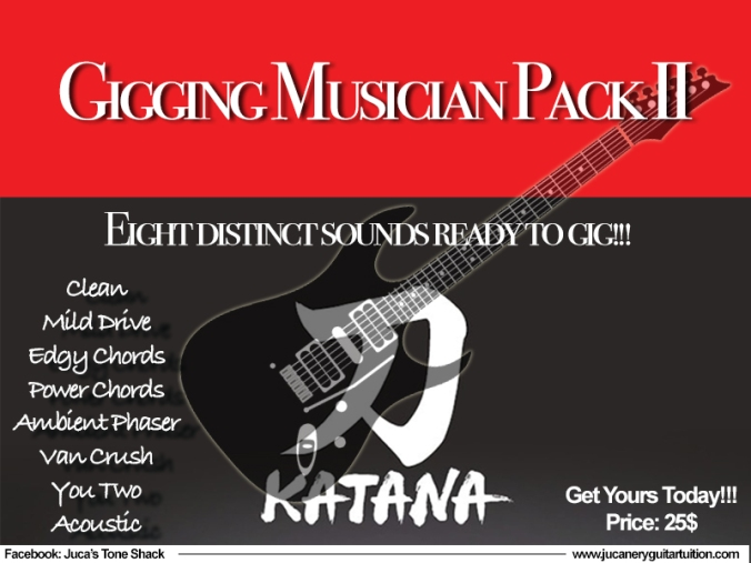 Gigging Musician Pack