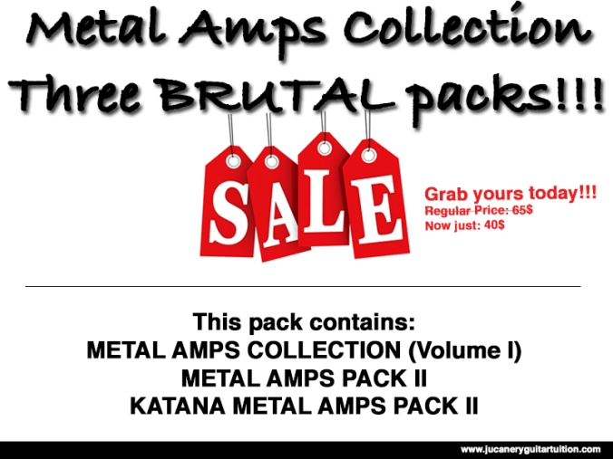 Metal Amps Promotion