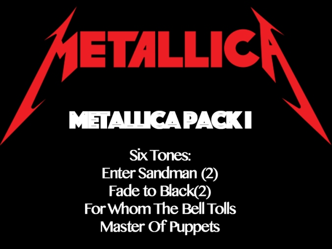 Metallica Pack I