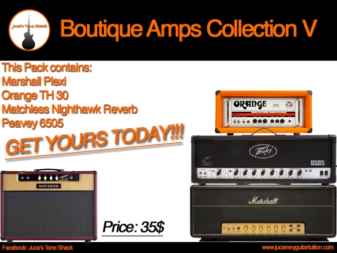 Boutique Amps Collection V