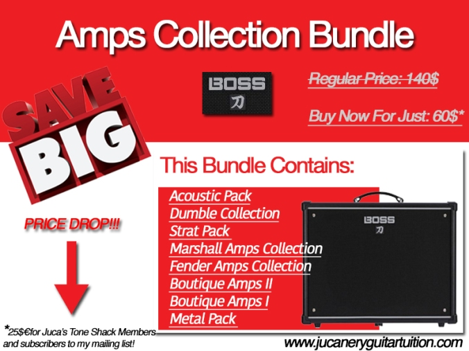 Amps Collection Bundle Promotion